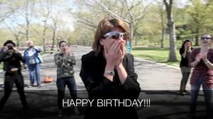 Happy Birthday Reaction
