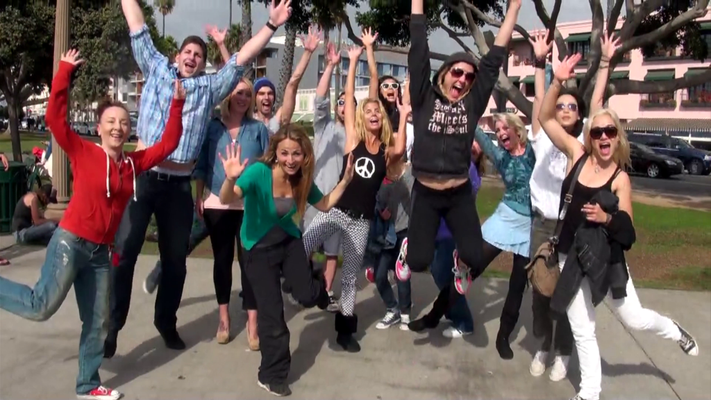 Flash mob fun in Santa Monica!